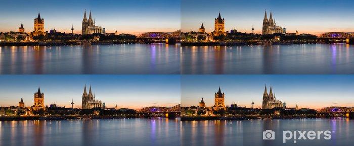 Papel de Parede em Vinil Cologne Skyline - iStaging
