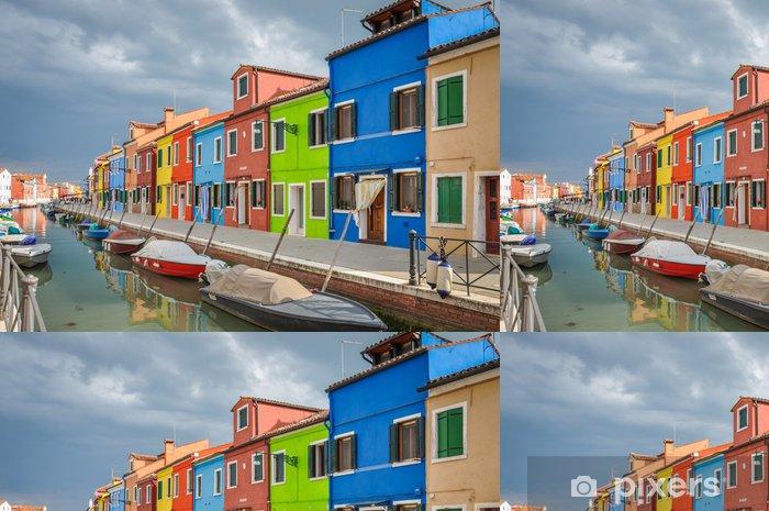 Papel Pintado Estándar La isla de Burano, Venis - Europa