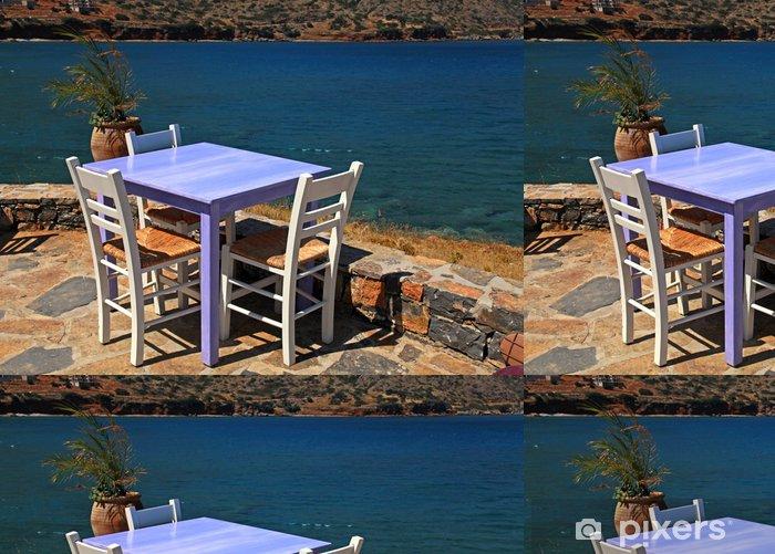 Papel Pintado Estándar Restaurante al aire libre en Grecia - Europa