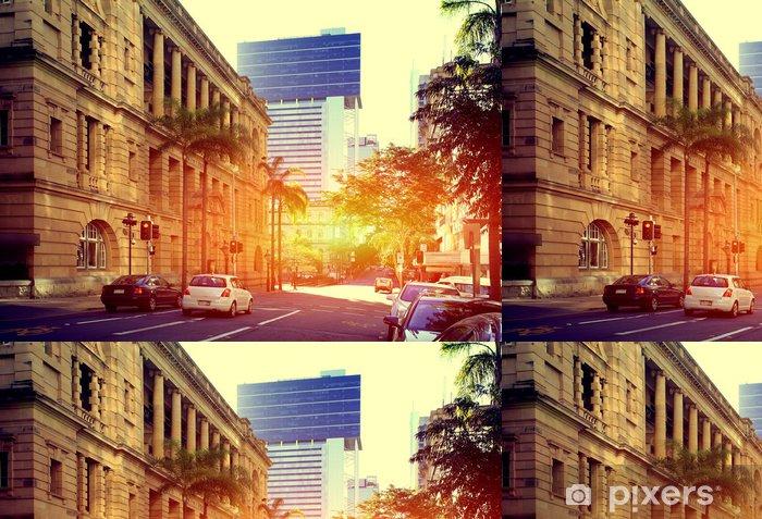 Papier peint à motifs vinyle Brisbane City - Océanie