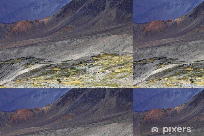 Papier peint à motifs vinyle Himalaya oasis - Ladakh, Jammu & Cachemire, Inde - Thèmes