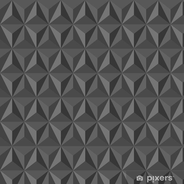 Papier peint à motifs Insolite cru motif géométrique abstrait ...