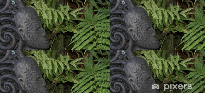 Papier peint à motifs vinyle L'art maori nouvelle zelande - Océanie