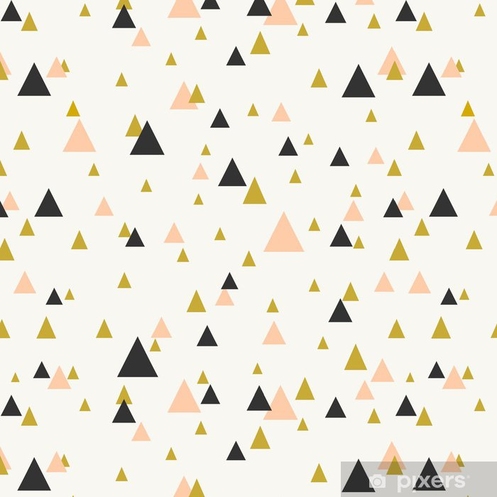 Vinyltapete Abstrakte geometrische nahtlose Muster. - Themen