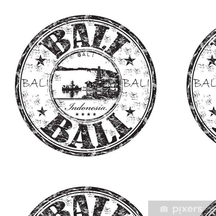 Vinyltapete Bali Grunge-Stempel - Asien