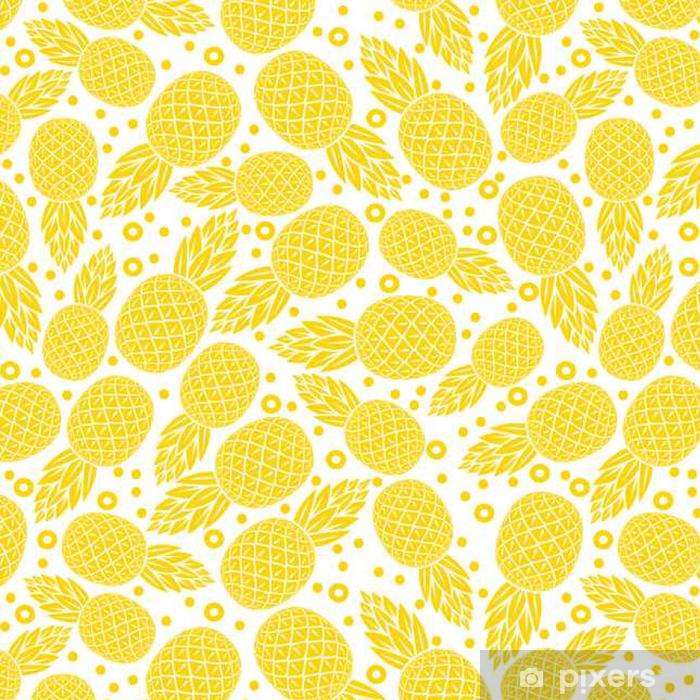 tapete gelbe ananas nahtlose muster pixers wir leben um zu ver ndern. Black Bedroom Furniture Sets. Home Design Ideas