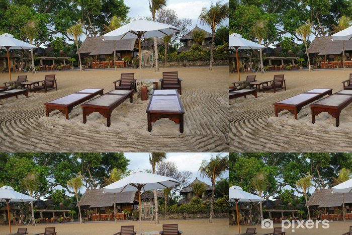 Vinyltapete Landschaft Strand 78 - Urlaub