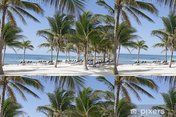 Vinyltapete Riviera Maya Mexico Beach - Urlaub