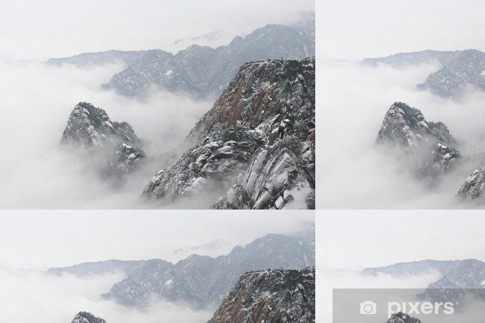 黄山 Vinyltapet - Bjerge