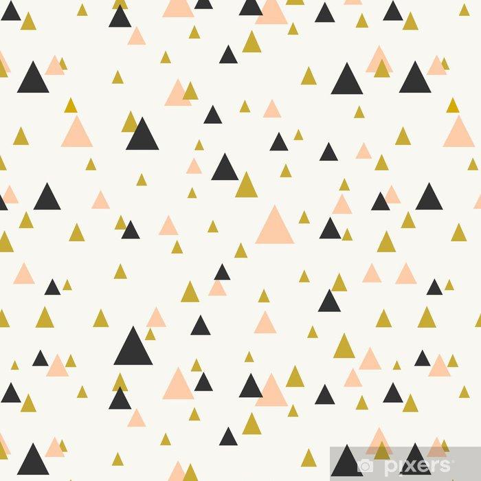 Vinyltapet Abstrakt geometriska sömlösa mönster. - Teman