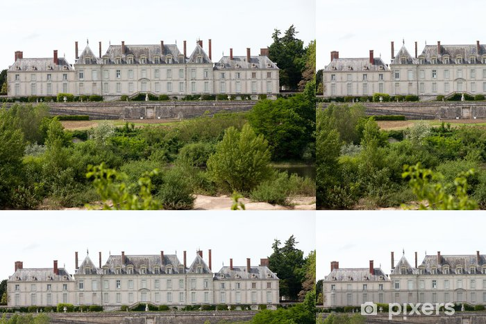 Vinyltapet Chateau de Menars. Loire-dalen, Frankrike - Europa