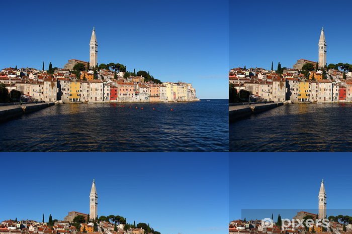 Udsigt over byen Rovinj i Kroatien (Europa) Vinyltapet - Europa