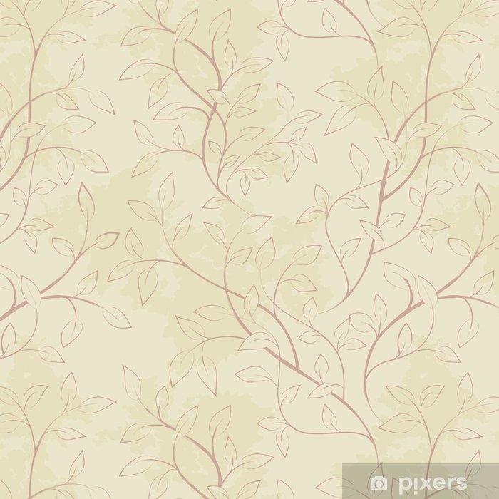 Vinylová Tapeta Květinový vzor bezešvé - Grafika