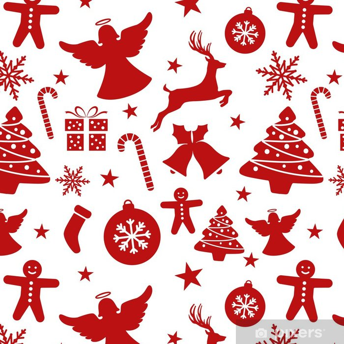 Christmas Pattern Wallpaper Pixers We Live To Change Simple Christmas Pattern Wallpaper