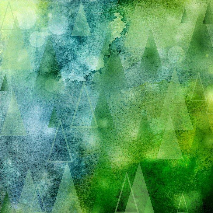Abstrakt lichter weihnachtsbäume