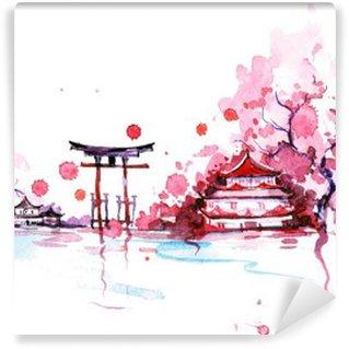 Abwaschbare Fototapete Japan