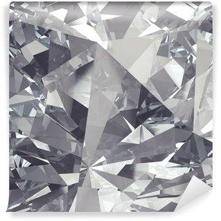 Abwaschbare Fototapete Kristall Facette Hintergrund