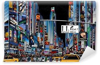 Abwaschbare Fototapete Straße in New York City