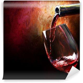 Abwaschbare Fototapete Wine