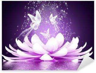 Pixerstick per Tutte le Superfici Bellissimo fiore di loto