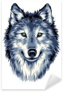 Pixerstick per Tutte le Superfici Blu Wild Wolf