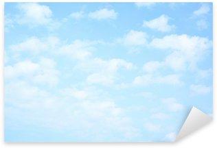 Pixerstick per Tutte le Superfici Chiaro cielo blu con nuvole