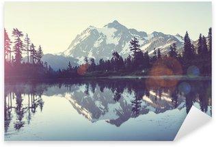 Adesivo Pixerstick Immagine Lago