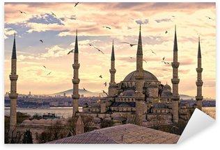 Pixerstick per Tutte le Superfici La Moschea Blu, Istanbul, Turchia.