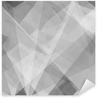 Adesivo Pixerstick Lowpoly Sfondo alla moda con copyspace. Illustrazione vettoriale. strati opacità usati