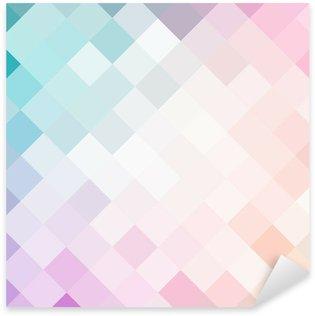 Adesivo Pixerstick Mosaic modello colorato