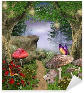 Pixerstick per Tutte le Superfici Natura incantata serie - percorso incantato