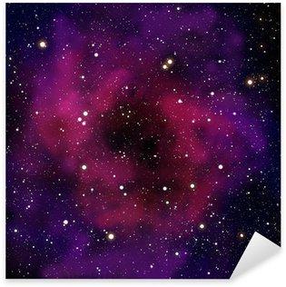 Pixerstick per Tutte le Superfici Nebulosa e stelle nella zona dello spazio