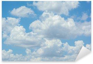 Pixerstick per Tutte le Superfici Nuvole bianche sul cielo blu