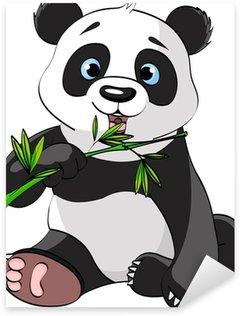 Pixerstick per Tutte le Superfici Panda mangiare bambù