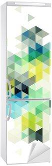 Adesivo per Frigorifero abstract low poly background, vector