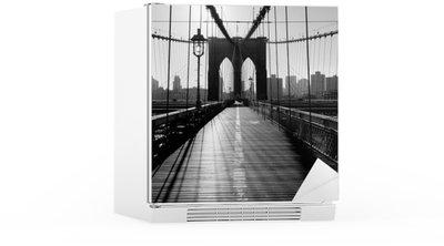 Adesivo per Frigorifero Ponte di Brooklyn, Manhattan, New York City, Stati Uniti d'America