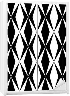 Adesivo per Guardaroba Disegno geometrico