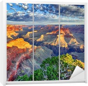 Adesivo per Guardaroba Luce del mattino al Grand Canyon