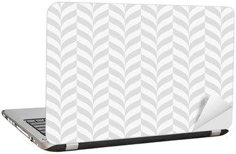 Adesivo per Laptop Disegno geometrico, illustrazione sfondo trasparente