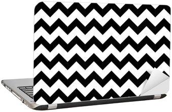 Adesivo per Laptop Estratto zigzag geometrica seamless. vettore