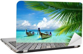 Adesivo per Laptop Mare tropicale
