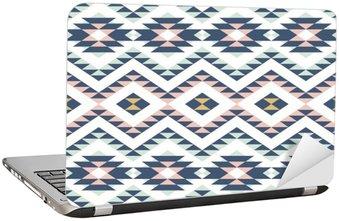 Adesivo per Laptop Seamless pattern con ornamento etnico