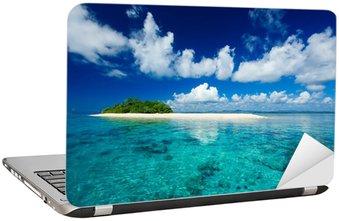 Adesivo per Laptop Tropicale isola paradiso per le vacanze