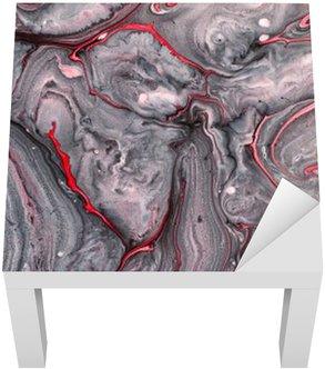 Adesivo per Tavolino Lack Astratto sfondo di vernice