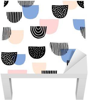 Adesivo per Tavolino Lack Disegnati a mano senza soluzione di modello
