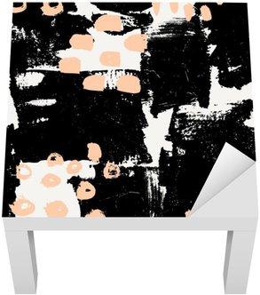 Adesivo per Tavolino Lack Hand Drawn astratta Seamless Pattern