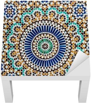 Adesivo per Tavolino Lack Marocchino tegola vintage background