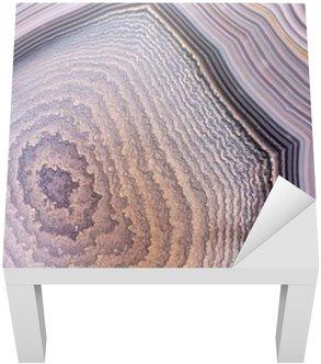 Adesivo per Tavolino Lack Struttura agata sfondo grigio scuro