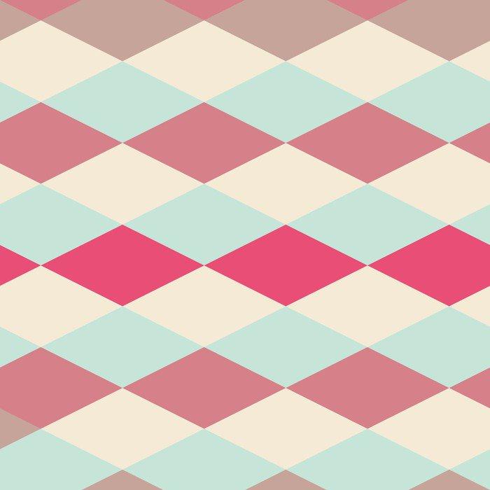 Adesivo per Tavolo & Scrivania Astratta retrò pattern geometrico ...