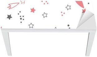 Adesivo per Tavolo & Scrivania Carino seamless con le stelle. sfondo spazio